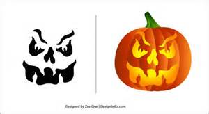 Skull Pumpkin Carving Templates Free by Free Halloween Pumpkin Carving Patterns 2012 15 Scary