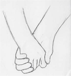 Photos: Easy Drawing Holding Hands, - DRAWING ART GALLERY