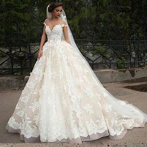 princess full lace wedding dresses 2016 sheer arbic tulle With wedding dress stores online