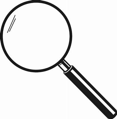 Magnifying Glass Transparent Loupe Clipart Magnifier Background