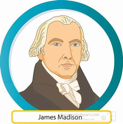 Madison James Clipart Gray Presidents American Clip