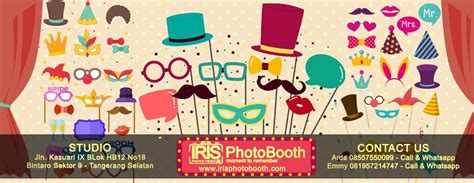 dekorasi photo booth iris photobooth jasa photo booth