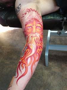 Underworld sleeve Hades tattoo