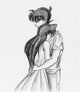 Gallery: Pencil Sketch Of A Cute Couple Hugging, - DRAWING ...