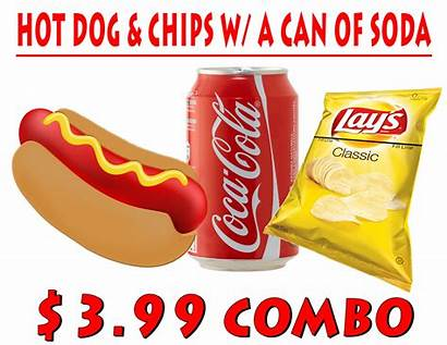 Clipart Soda Chip Chips Dog Paradise Cafeteria