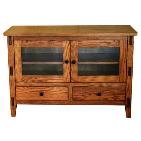 Bungalow Style 6044 Tv Stand  Amish Crafted Furniture