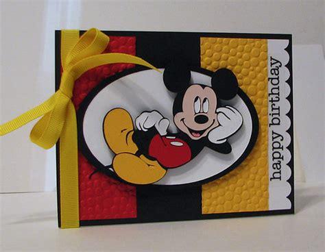 scrapping mommy mickey birthday theme   cricut
