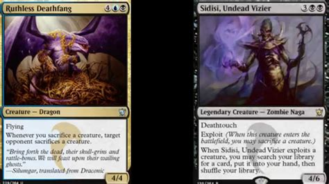 Magic The Gathering Dragons Of Tarkir Deck Ideas Youtube