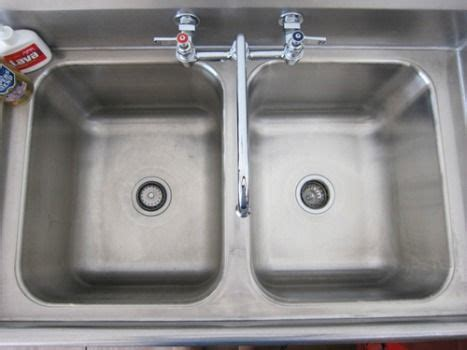 kitchen sink cleaning tips how to clean stainless steel sink tips tricks 5677
