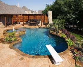 backyard kitchen design ideas pool landscaping ideas for your backyard riverbend