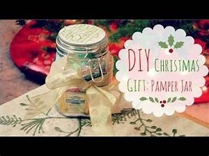DIY Christmas Gift Idea Pamper Jar