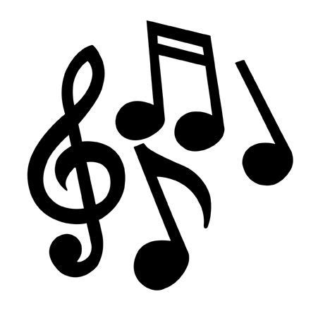 printable images musical notes universal pls