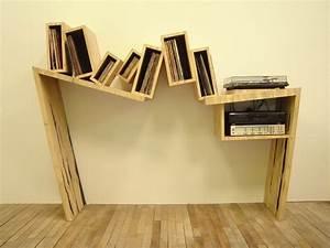 Meuble Pour Vinyle : meuble vinyle anthonyvivetdesign ~ Teatrodelosmanantiales.com Idées de Décoration