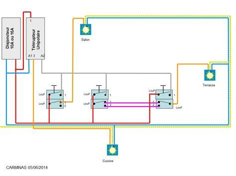 schema de commande eclairage sch 233 branchement 233 clairage
