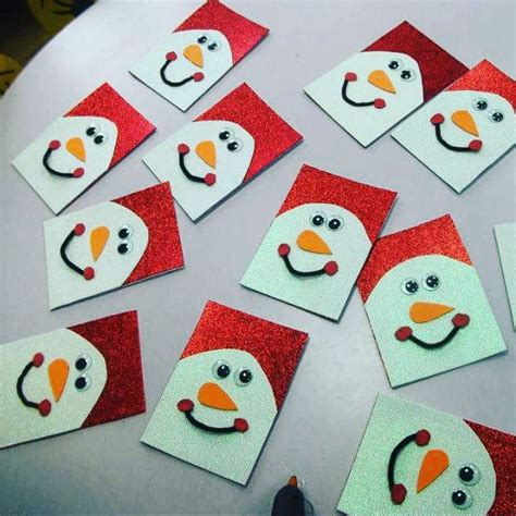 crafts actvities and worksheets for preschool toddler and 670 | snowman christmas card craft