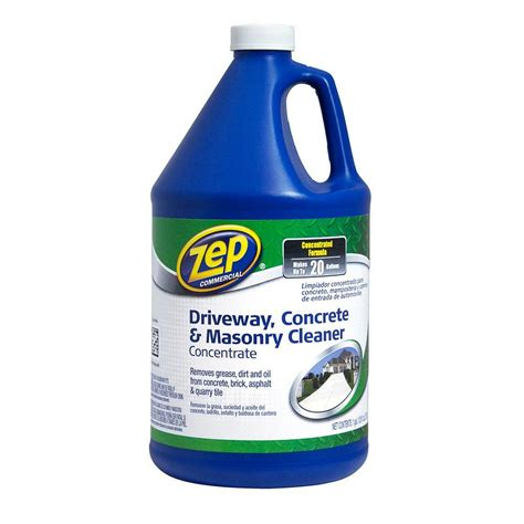 zep 128 oz driveway concrete and masonry cleaner