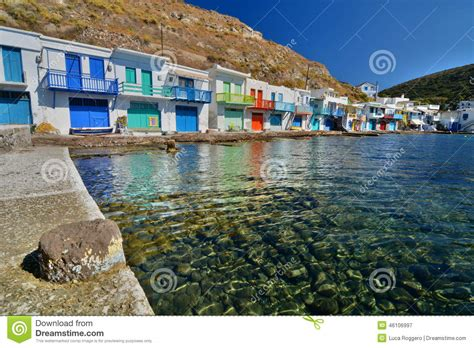 Traditional Fishing Village Klima, Milos Cyclades