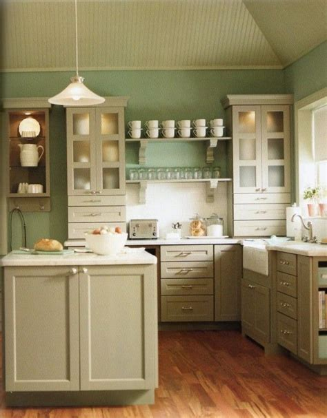 country kitchen wall colors color combination country kitchens with white cabinets 6168