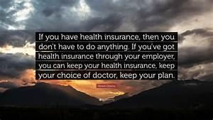 Barack Obama Qu... Obama Health Insurance Quotes