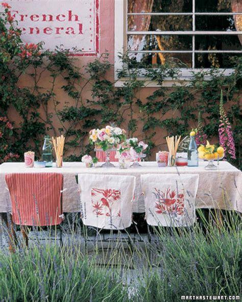 Martha Stewart Decorations - outdoor ideas martha stewart