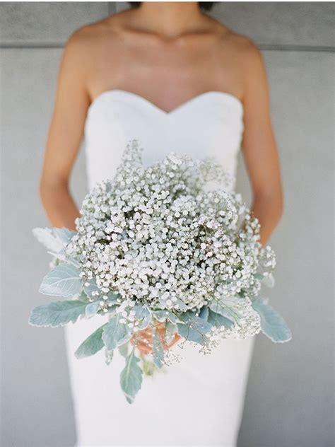 donna morgan bridesmaid dress babys breath bouquet