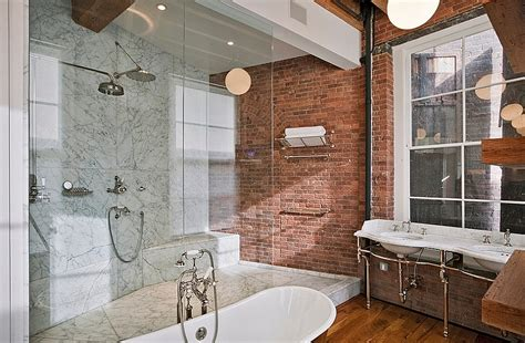 10 Fabulous Bathrooms With Industrial Style