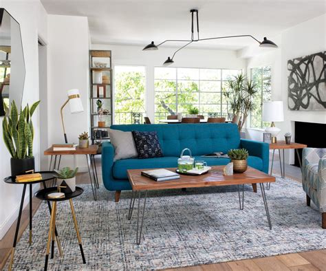 Mid century Modern on a budget never looked so good