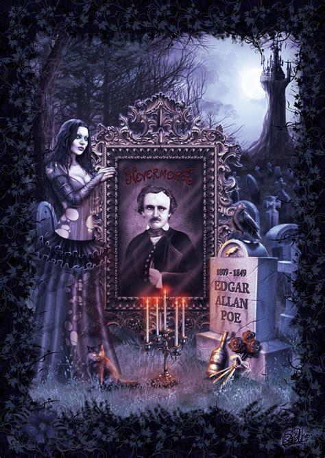 Edgar Allan Poe By Darkakelarre On Deviantart