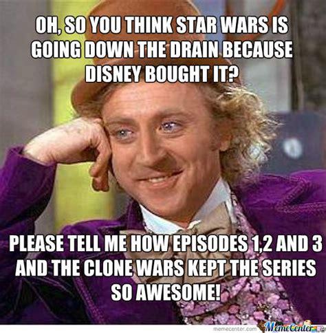 Disney Star Wars Meme - disney star wars by diggix meme center