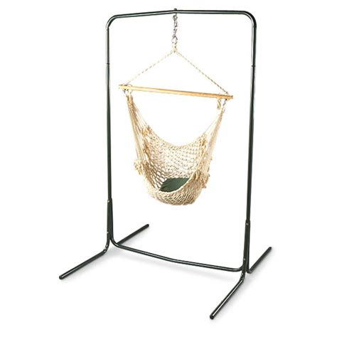 Hammock Chair With Stand by Texsport 174 Deluxe Hammock Chair Stand 172770 Hammocks