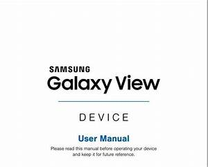 At U0026t Samsung Galaxy View 18 4  Sm  Guide