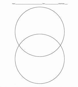 9  Blank Venn Diagram Templates