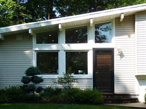 mid century modern exterior color schemes studio