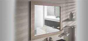 miroir cadre miroir cadre coventry aquarine With miroir salle de bain cadre bois