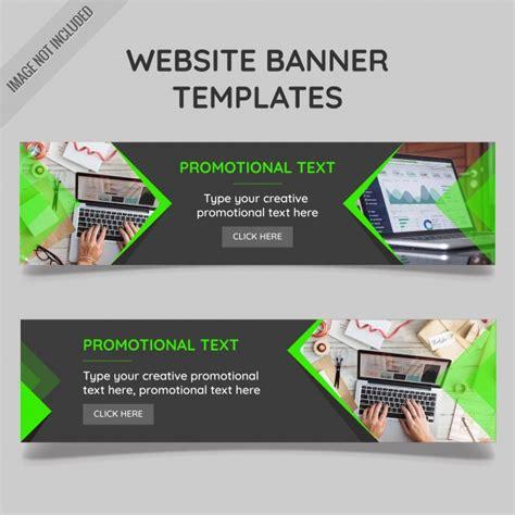 website banner vorlagen  der kostenlosen vektor