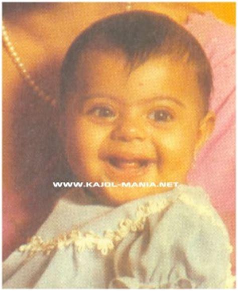 actress kajol date of birth bwnewz b day special rare childhood photos of actress kajol