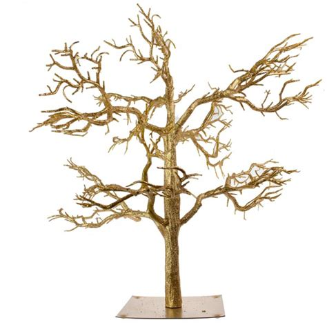 gold glitter twig tree 81cm party decorations and