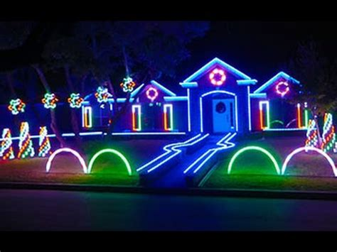 best way to set up christmas lights 2015 johnson family dubstep light show featured on abc s the great light
