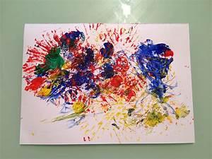 Activite Enfant 1 An : activit peindre avec des objets du quotidien so mummy ~ Melissatoandfro.com Idées de Décoration