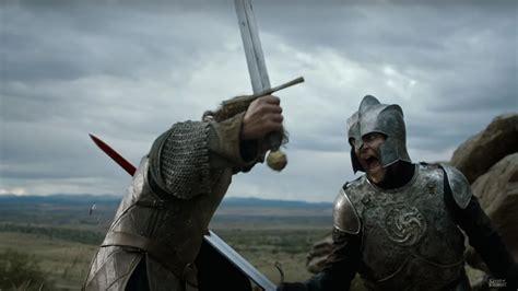 game  thrones greatest swordsmen top  ranked