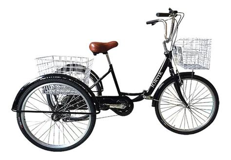 3 Wheel Folding Adults Tricycle! Disabled
