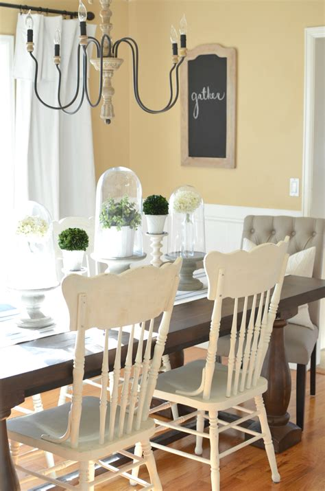 Modern Farmhouse Dining Room Makeover  Little Vintage Nest