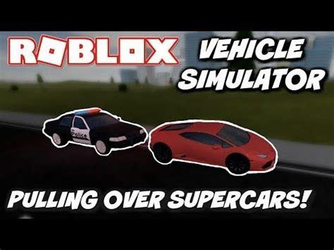 Bucatti sharon (bugatti chiron) $2,600,000 super: PULLING OVER SUPERCARS! Vehicle Simulator ROBLOX! - WATCH ...