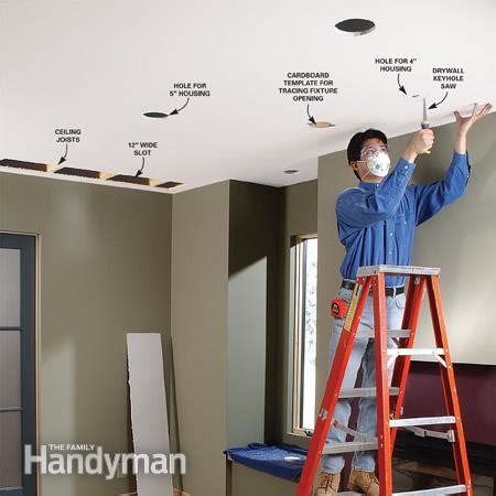 can i add a light to a ceiling fan how to install recessed lighting for dramatic effect the
