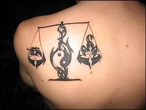 Libra Tattoos | InkDoneRight.com