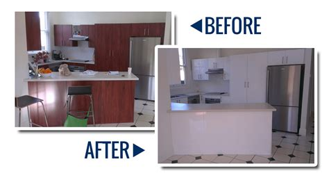 Kitchen Resurfacing for your tired Benchtops / Cabinets