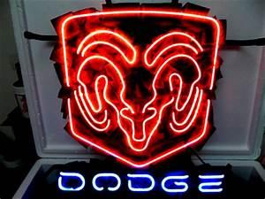 Dodge Ram Beer Bar Neon Light Sign 16