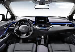 2017 Toyota Chr Interior