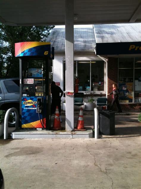sunoco gas station gas stations  duke st