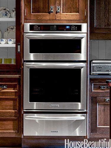kitchen   year  designer christopher peacock wall oven microwave oven combo